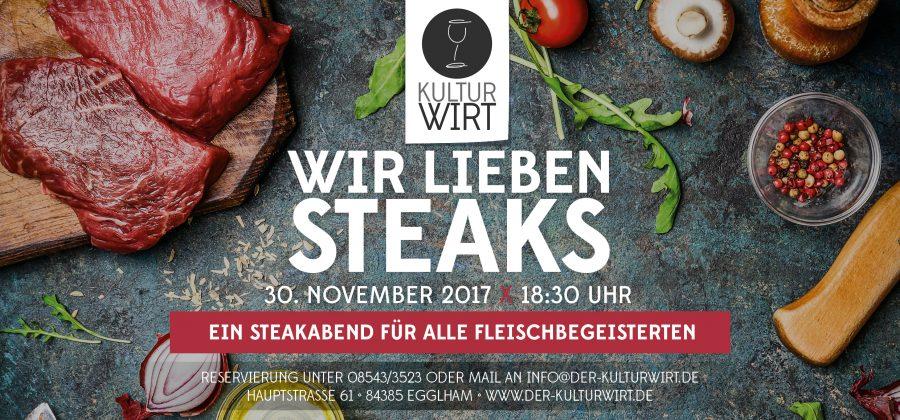 Wir lieben Steaks