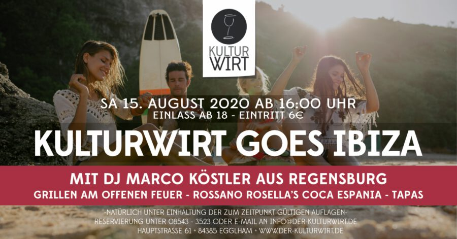 Kulturwirt goes Ibiza
